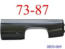 73 87 Chevy Truck 8' Left Bed Side Round Fuel Hole GMC 0850-069