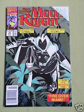 MARC SPECTOR -  MOON KNIGHT - MARVEL COMIC - MARCH 1991 - VOL 1 - # 24 -  VG