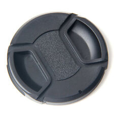 62mm snap on center pinch front lens cap for Canon Nikon Tamron Sony Camera HM