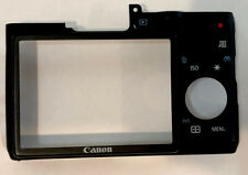 Canon Powershot G16 Rear Back Cover w/ Buttons Black Replacement Repair Part