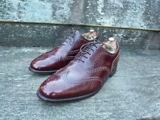 CHEANEY BROGUES – BROWN / MAHOGANY – UK 12 – WOODSTOCK – VERY GOOD CONDITION