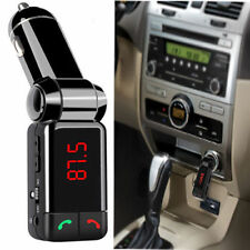 Trendy LCD Bluetooth Car Kit FM Transmitter MP3 USB Charger Handsfree For iPhone