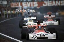 Niki Lauda BRM P160E Belgian GP 1973 Photograph 1