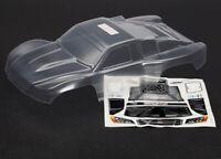 Traxxas 6811 Carrosserie Slash New Transparent avec Autocollants