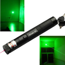 Powerful Military Green 1MW Laser Pointer Pen 532NM Light Visible Beam Burning