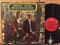 Sherrill Milnes SIGNED ON BACK Placido Domingo Great Operatic Duets EX