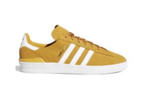 Adidas Campus ADV Yellow/White/Gold Unisex Size MenUS9/WomenUS10 /UK8.5/ 26.3CM