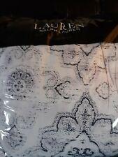 RALPH LAUREN Luna 3-Pc. Cotton Reversible Full/Queen Comforter Set Lilac $335