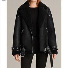 AllSAINTS Hawley 100% Shearling Jacket Small