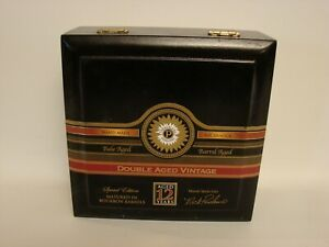 Perdomo empty wooden cigar box -- Double Aged Vintage Maduro Churchill 7 x 56