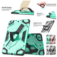 Shockproof Hybrid TPU+PC Durable Military Protector Case For iPad MINI 123 Cover
