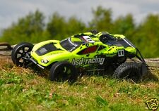 1-bs711r BSD Racing Flux Storm RC auto FAST BRUSHLESS TRUGGY 1:10 TH 2.4 Ghz NUOVO Regno Unito