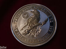 Australia. 1995 2oz - Silver Kookaburra. Royal Visit Florin Privy Mark. BU #1357