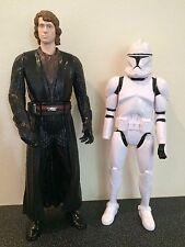 Star Wars 12 Inch Action Figures Anakin Skywalker & Stormtrooper
