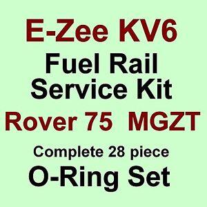 KV6 Fuel Rail Seals  FULL SET VITON O Rings for Rover 75 MG ZT Freelander (F1)