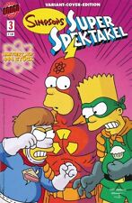 SIMPSONS SUPER SPEKTAKEL #3 (deutsch) VARIANT-COVER-EDITION lim. 444 Ex  München