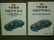 1996 Kia Sephia Service Repair Shop Manual Set Factory Books OEM 96 X