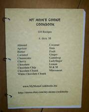 Cookies A through M - My Mom's Cookie Cookbook, Ring Bound, Loose Leaf