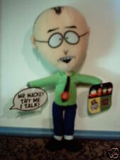 "Rare Working South Park Talking Mr Mackey 12"" Plush Toy Doll By Fun 4 All Mwt"