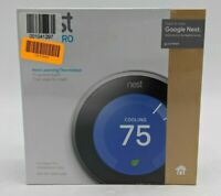 New Google Nest Pro Edition 3rd Gen Programmable Thermostat Steel -SB1854