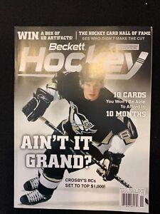 Beckett Hockey 2005 November Sidney Crosby Cover Issue #176