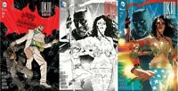 Dark Knight III DK3 Master Race #1 Madness Games & Comics Variant Set of 3