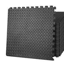 24 PCS Puzzle Exercise Mat Foam Interlock Protective Floor 96 Sq Ft GYM Home