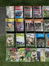 More details for football league reviews amazing collection from all 9 years over 450 altogether