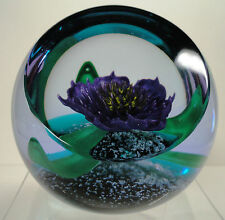 Caithness Tropicana Paperweight Ltd Ed Boxed with Cert.1996 Helen MacDonald
