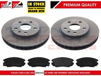 FOR VAUXHALL INSIGNIA 1.4 1.8 2.0 CDTi 08-14 FRONT BRAKE DISCS PADS SET 296mm
