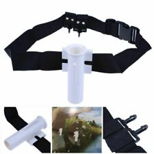 Fishing Adjustable Waist Rod Holder Strap Rotating Hands Free Fish Belt Tools