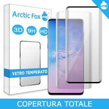 Pellicola Vetro Temperato Copertura Totale Display Samsung Galaxy S10 Plus S10e
