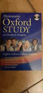 Dizionario Oxford Study Per Studenti D'inglese Inglese italiano e viceversa