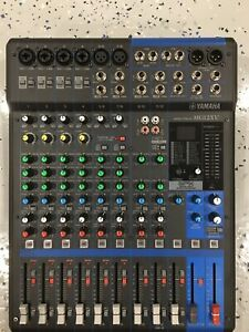 YAMAHA MG12XU Mixer 12-Channel Mixing Consol as NEW