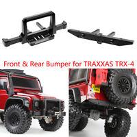 CNC Aluminum Front & Rear Winch Bumper Set for 1/10 RC Crawler Traxxas TRX-4