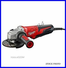 "Milwaukee 6117-30 13 Amp 5"" Small Angle Grinder Paddle, Lock-On 11,000 rpm"