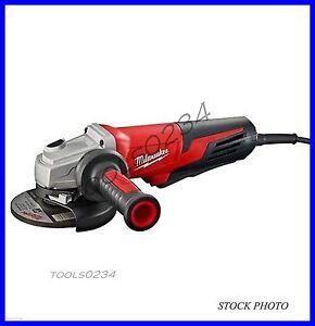 "Milwaukee 6117-30 - 5"" Angle Grinder - 13 Amp - Paddle Switch Lock-On 11,000 rpm"