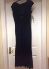Designer Dress Size 10 - Madeleine - Lined Black Cocktail Flared Skirt - (2531)