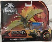 Jurassic World Attack Pack Rhamphorhynchus Mattel Dinosaur Toy Dino Rivals