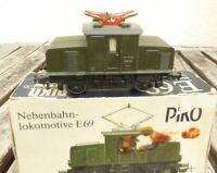 Piko H0 Elektrolok E 69 05 der DR / DRG deutlich gebraucht erhalten, Funktion OK