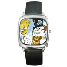 FROSTY THE SNOWMAN CHRISTMAS SILVER-TONE WATCH 8 OTHER STYLES SPORTS CHARM