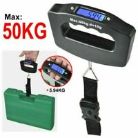 50kg Digital Luggage Scale Portable Weighing Weight Suitcase Travel Scale Strap