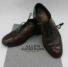 Allen Edmonds SHELL Cordovan 7 D Park Avenue Burgundy Cap Toe Oxford Dress Shoes