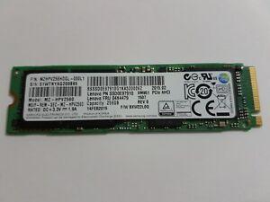Samsung SM951 MZ-HPV2560 M.2 2280 PCIE 3.0 AHCI 256gb SSD