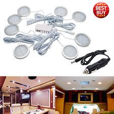 8x 12V Interior LED Spot Lights For VW T4 T5 Camper Van Caravan Motorhome light