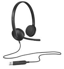 Logitech H340 VoIP USB Stereo Headset