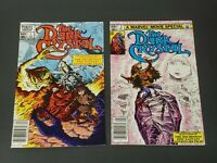 "(2) 1983 Marvel Comics, Vol.1 #1 #2, ""The Dark Crystal"" ~ Jim Henson, Adaptation"