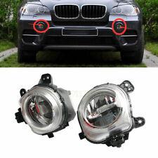 Front Bumper Pair Fog Light Lamp LED For BMW X3 F25 X4 F26 X5 F15 F85 X6 F16