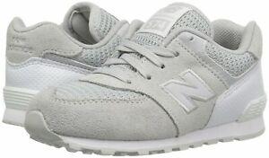 New Balance Kids Fashion Sneakers 574 Grey White KL574C9P