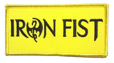 "Iron Fist Logo Marvel Comics 4"" Embroidered Patch- FREE S&H  (MCPA-28)"